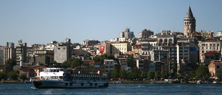 Istanbul, the capital of Turkey